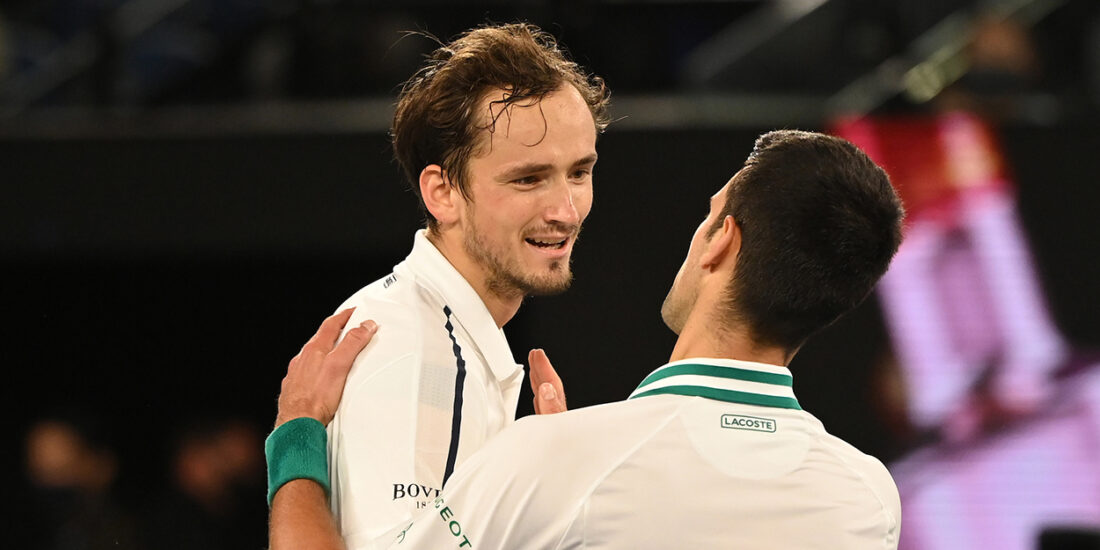 Daniil Medvedev - compares Novak Djokovic and Rafa Nadal