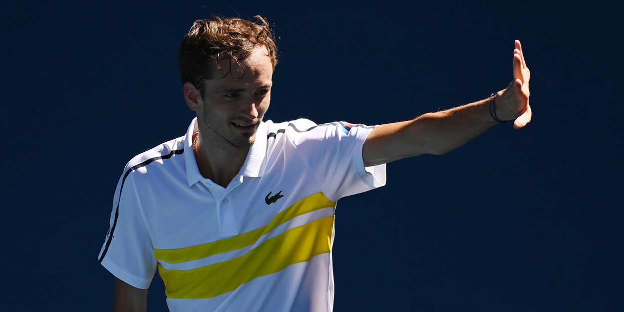 Daniil Medvedev at Australian Open