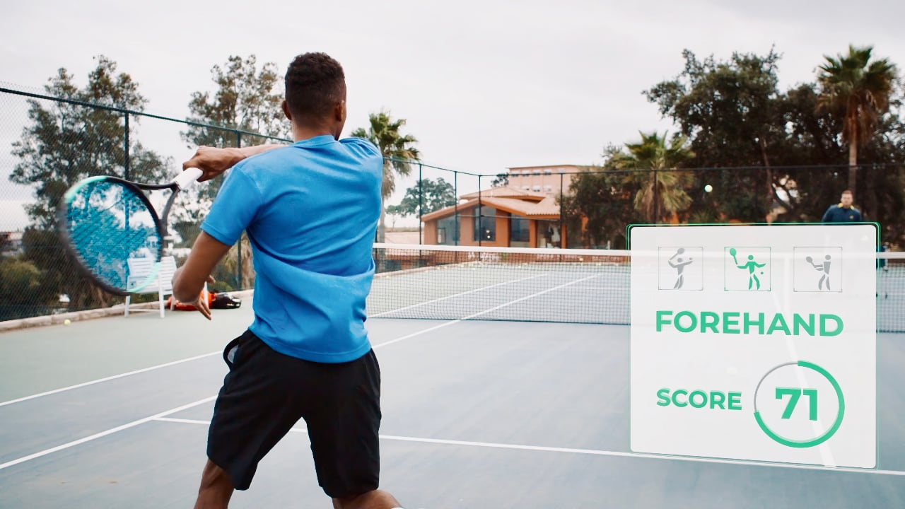 Wingfield smart tennis court technology