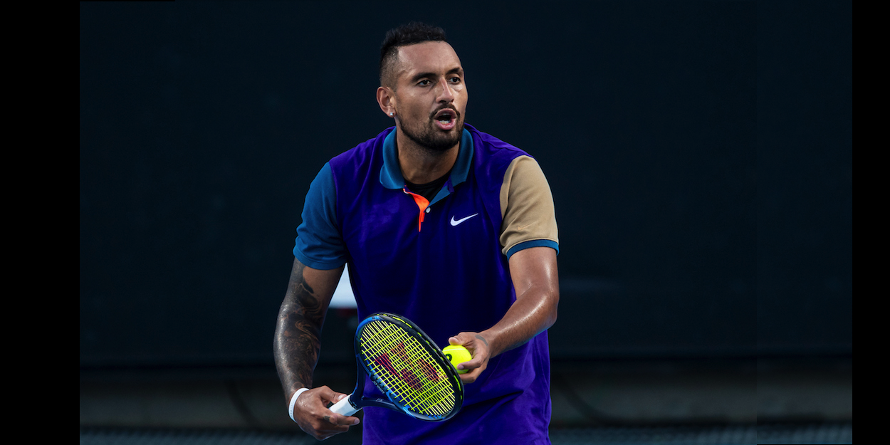 Kyrgios underarm serve