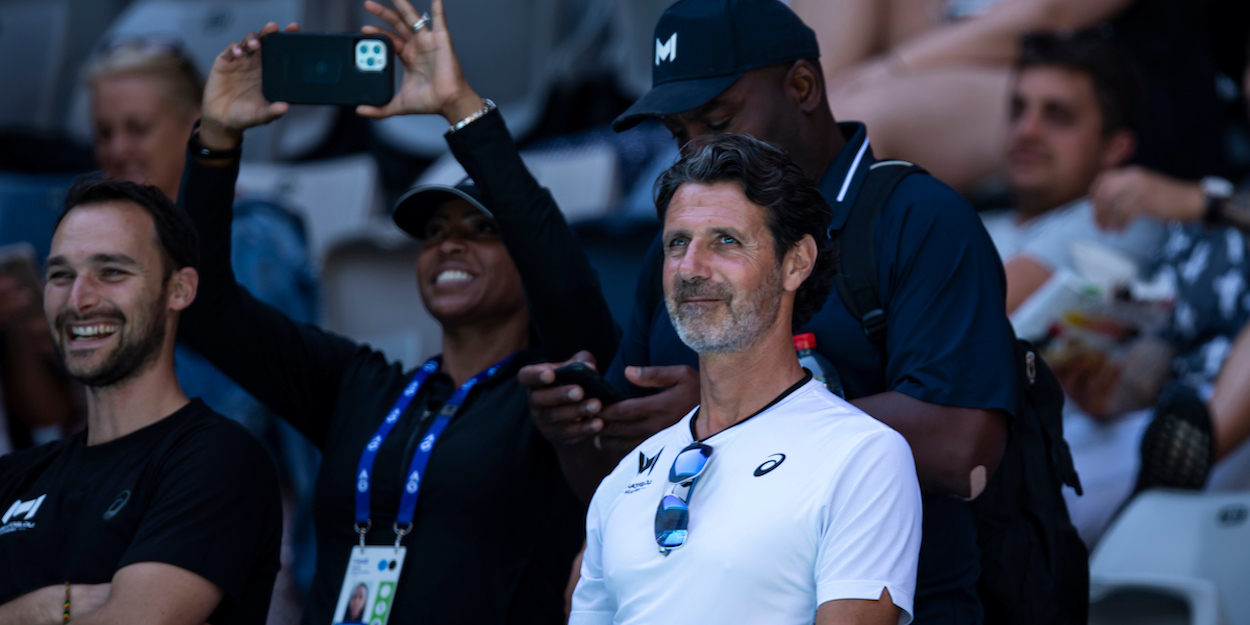 Patrick Mouratoglou at the 2021 Australian Open