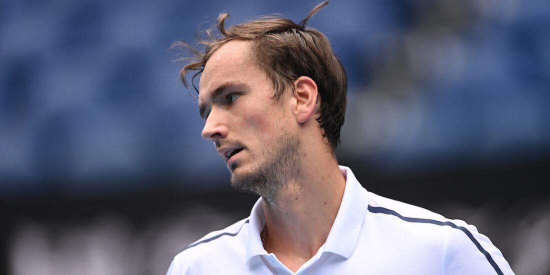 Medvedev Australian Open 2021 - lost in final to Novak Djokovic