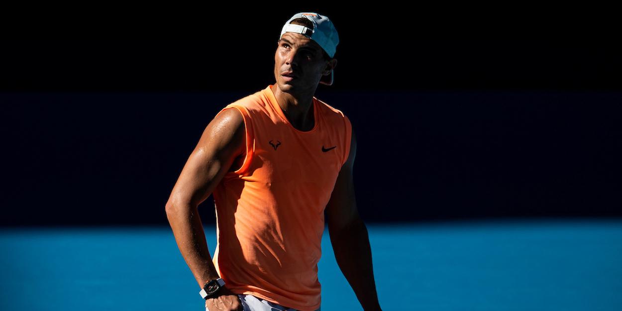 Rafa Nadal Australian Open 2021