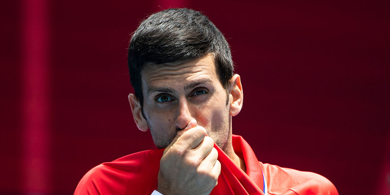 Novak Djokovic ATP Cup defeat