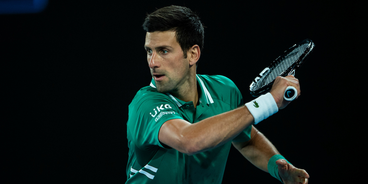 Novak Djokovic at Australian Open