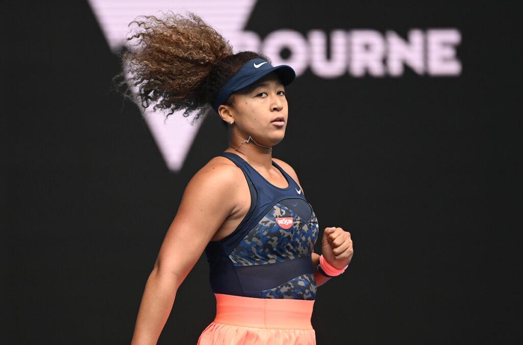 Naomi Osaka Fist-pump