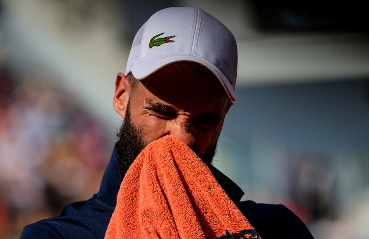 When Benoit Paire tested positive for COVID-19 at the US Open he was withdrawn from the tournament