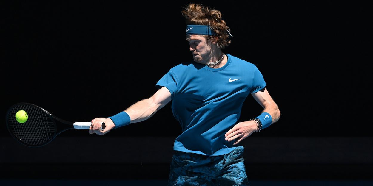 Rublev Australian Open 2021
