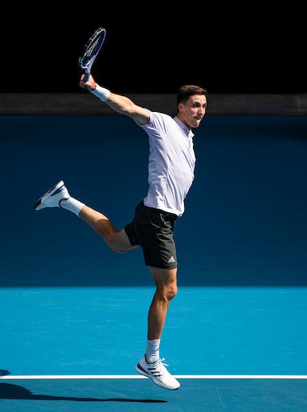 Victory at last year's Australian Open was the peak of Joe Salisbury career so far