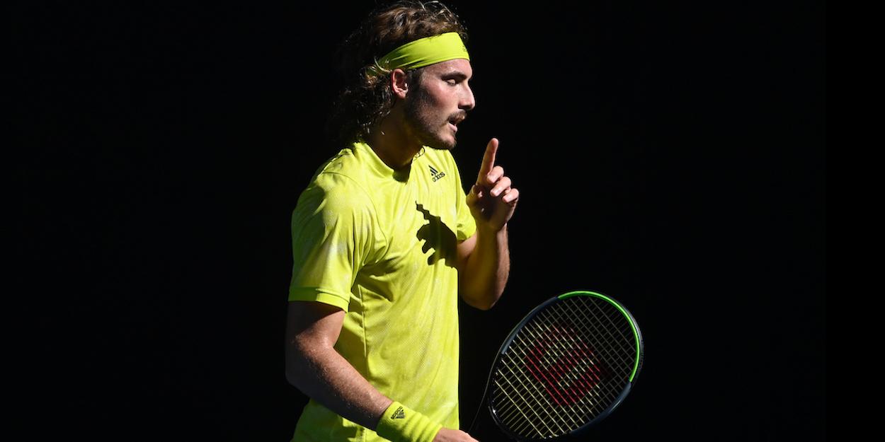 Stefanos Tsitsipas Australian Open