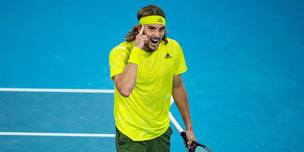 Stefanos Tsitsipas Australian Open Rafael Nadal