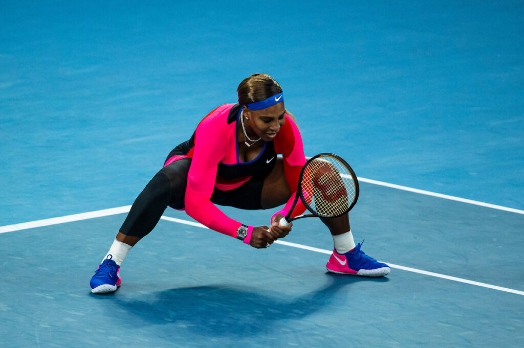 Serena Williams Squat
