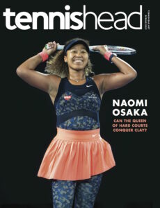 Tennishead March 2021 issue cover