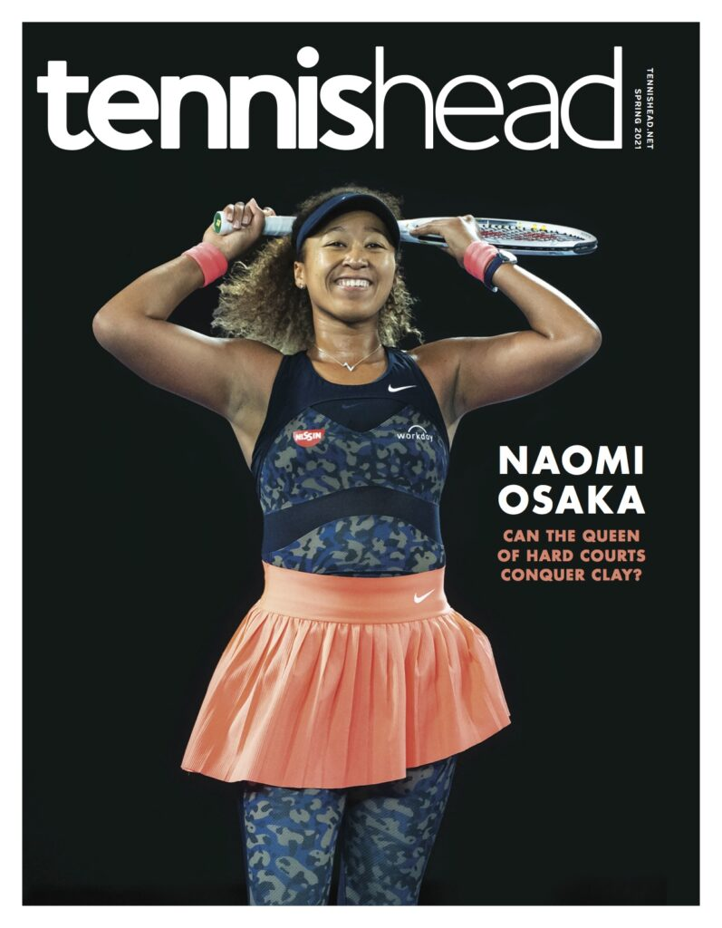 Tennishead magazine March 2021