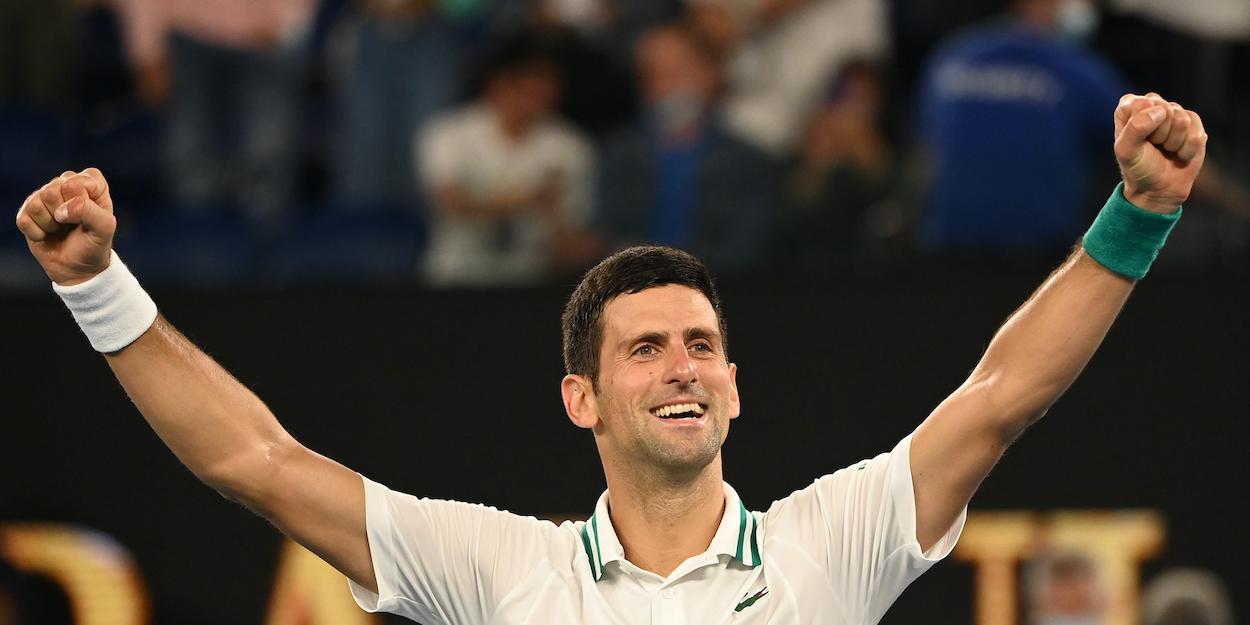 Djokovic ATP Rankings