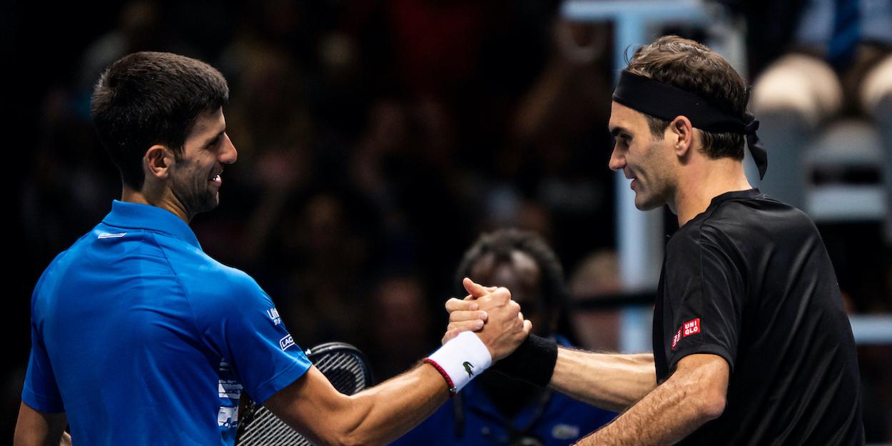 Novak Djokovic Roger Federer ATP Finals