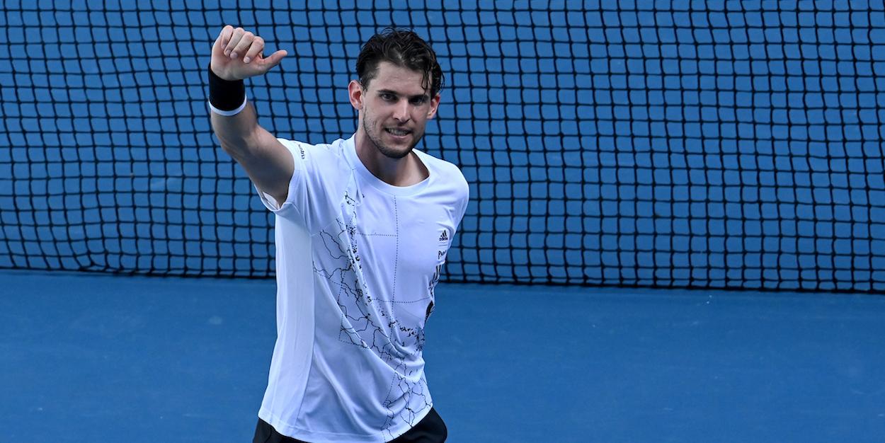 Dominic Thiem Australian Open 2021