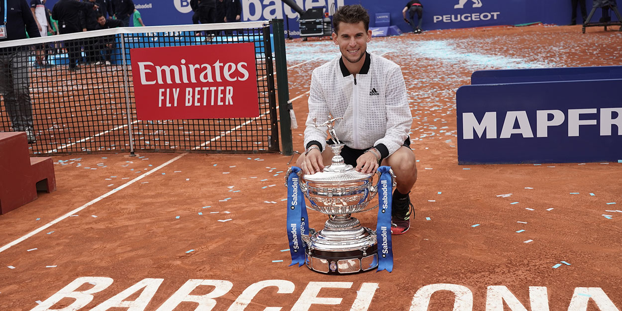 Dominic Thiem Barcelona champion