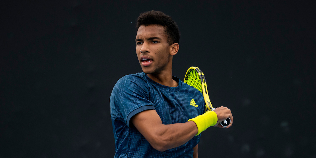 Felix Auger-Aliassime Novak Djokovic