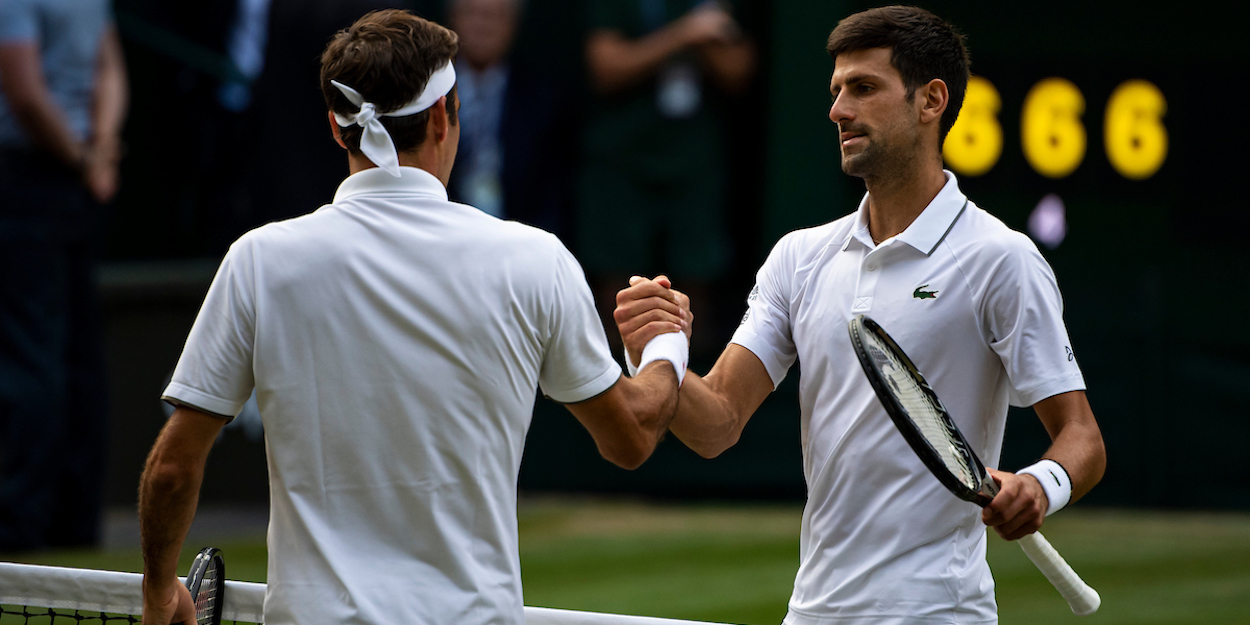 Federer Djokovic Wimbledon 2019