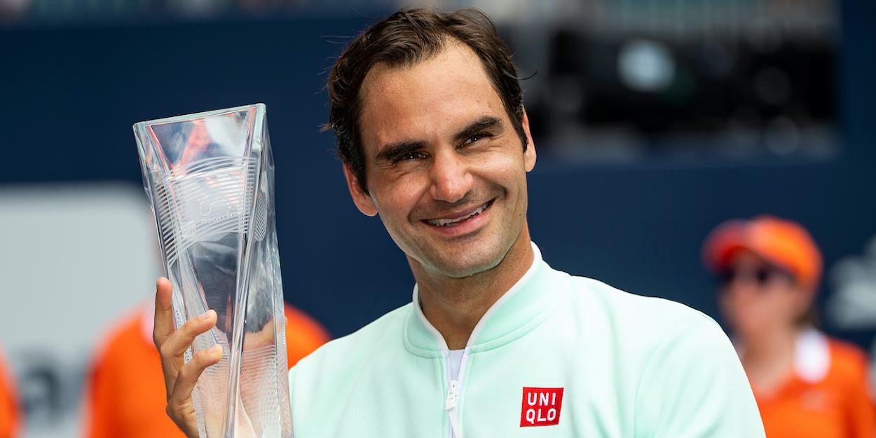 Roger Federer Miami 2019