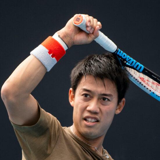 Kei Nishikori Australian Open 2021