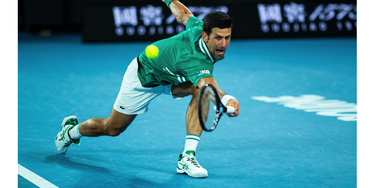 Novak Djokovic ASICS