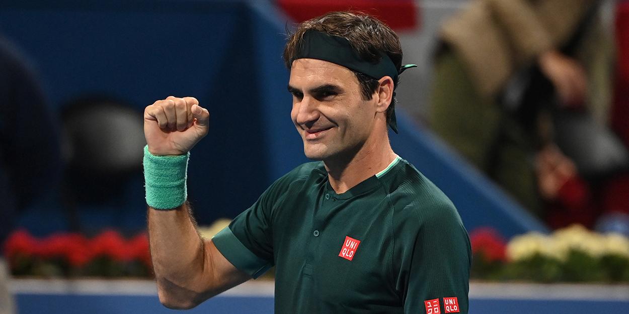 Roger Federer doha