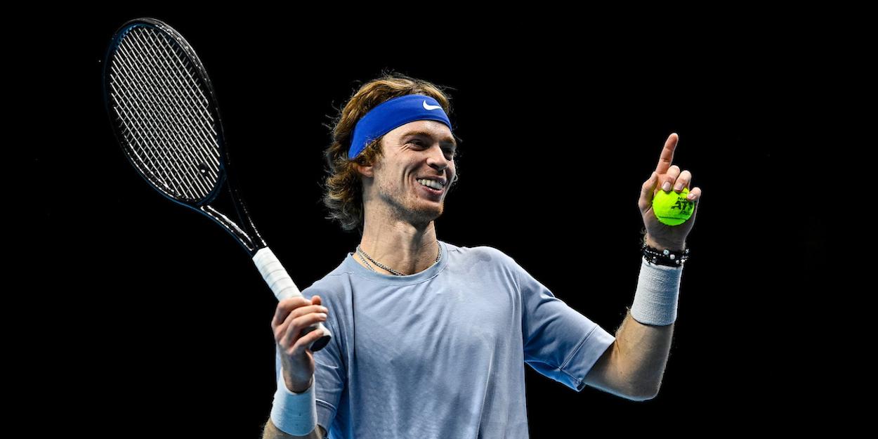 Andrey Rublev ATP Finals 2020