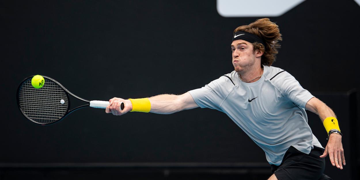 Andrey Rublev Australian Open 2021