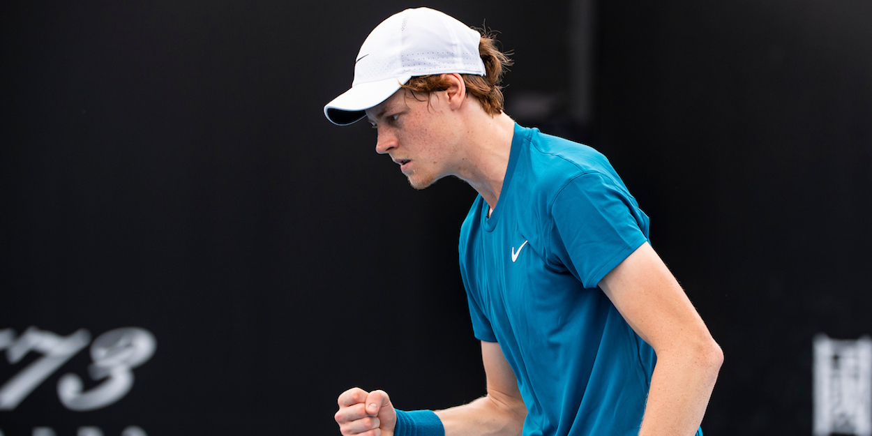 Jannik Sinner Australian Open 2021