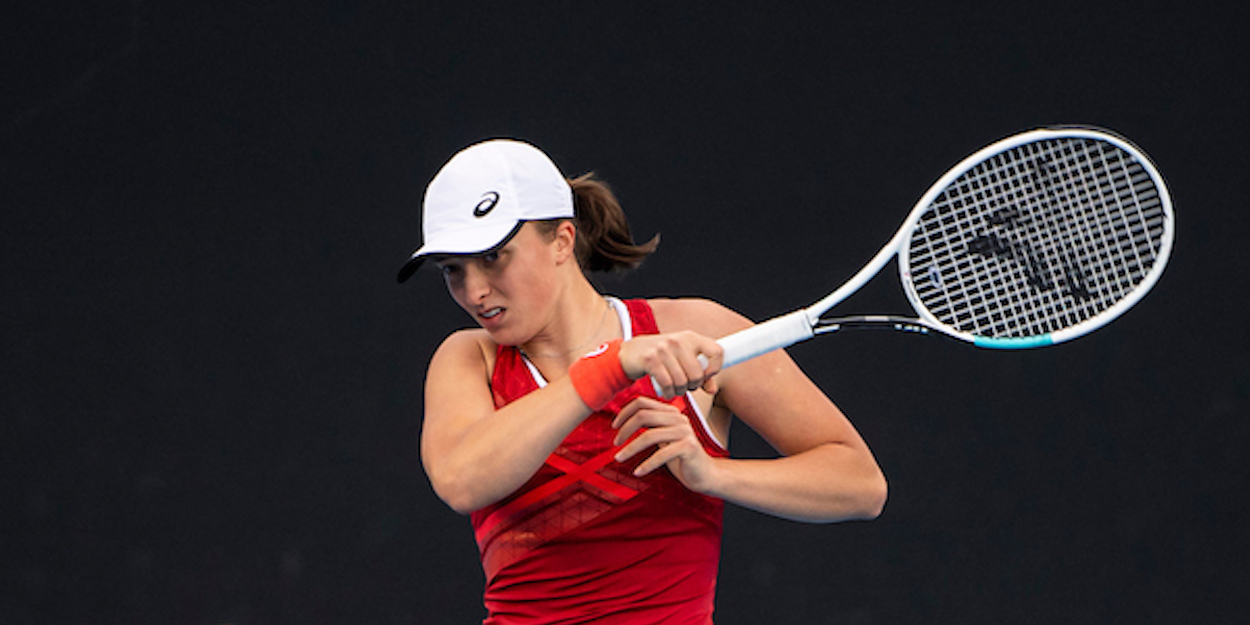 Iga Swiatek Australian Open 2021