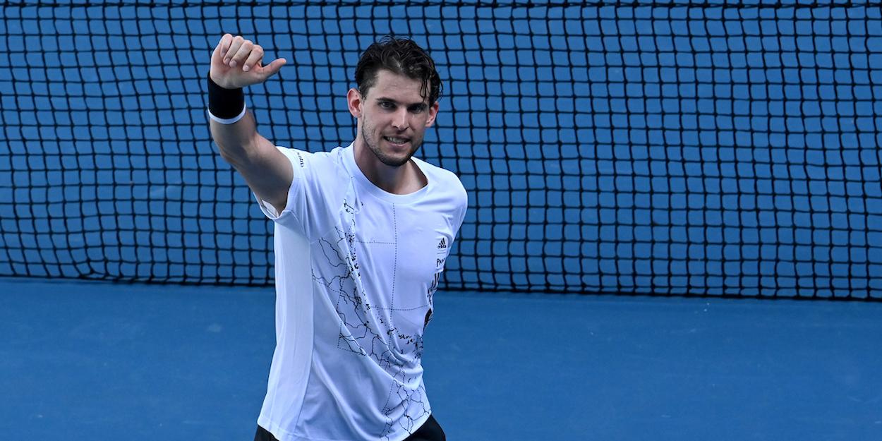 Thiem Australian Open 2021
