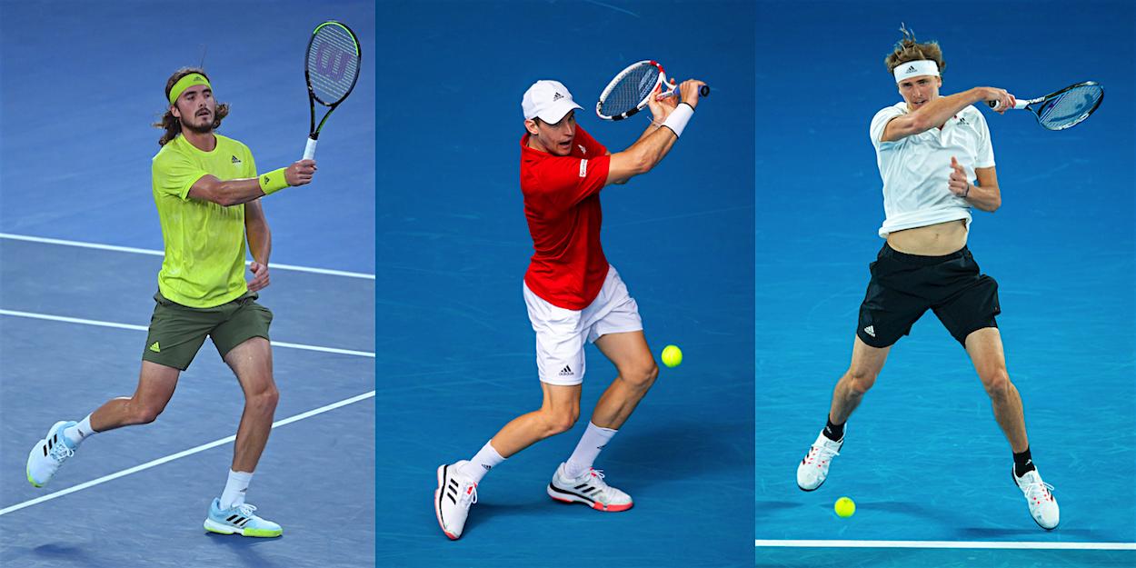 Thiem Tsitsipas Zverev ATP Tennis highlights