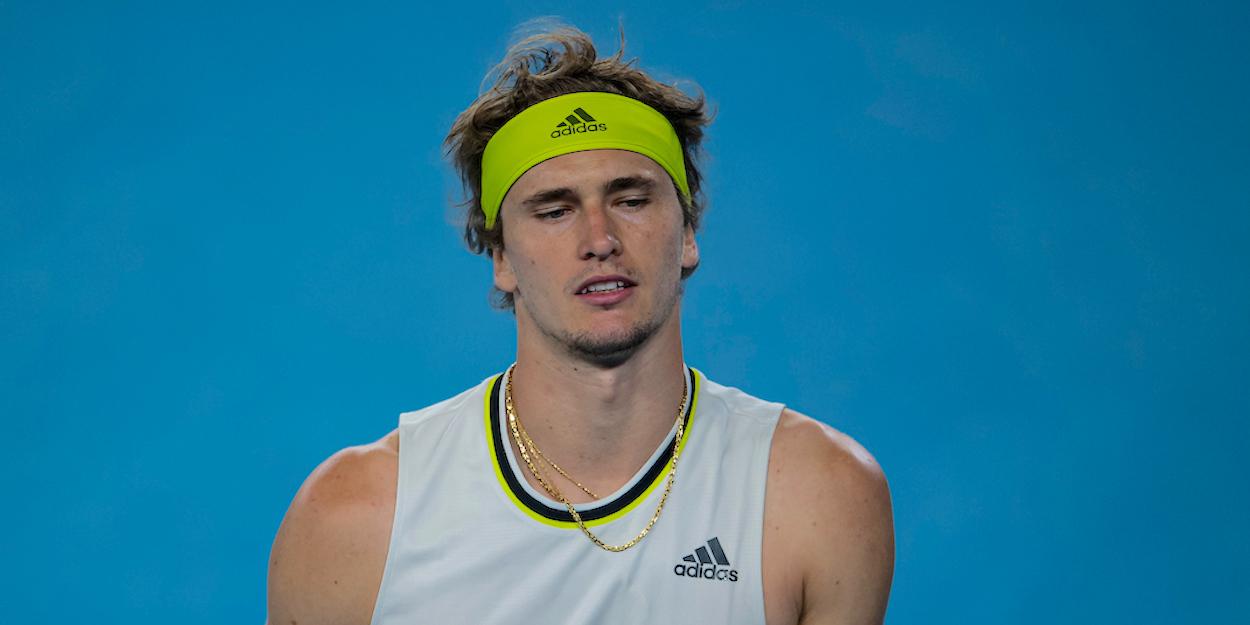 Alexander Zverev Australian Open 2021