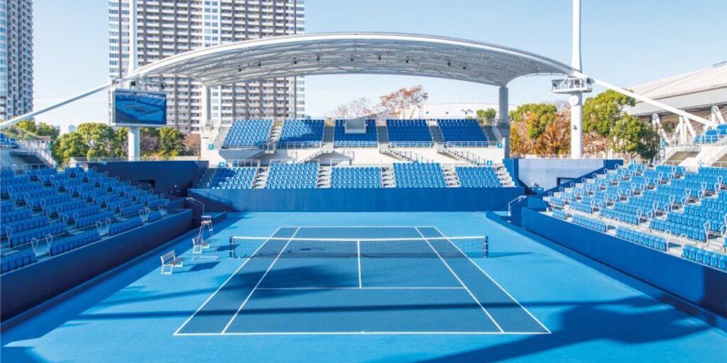 Tokyo Olympics tennis stadium