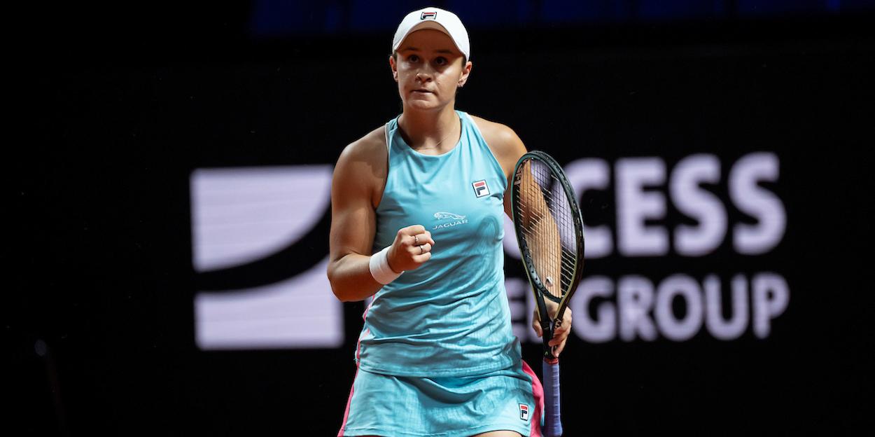 Ash Barty Stuttgart WTA 2021