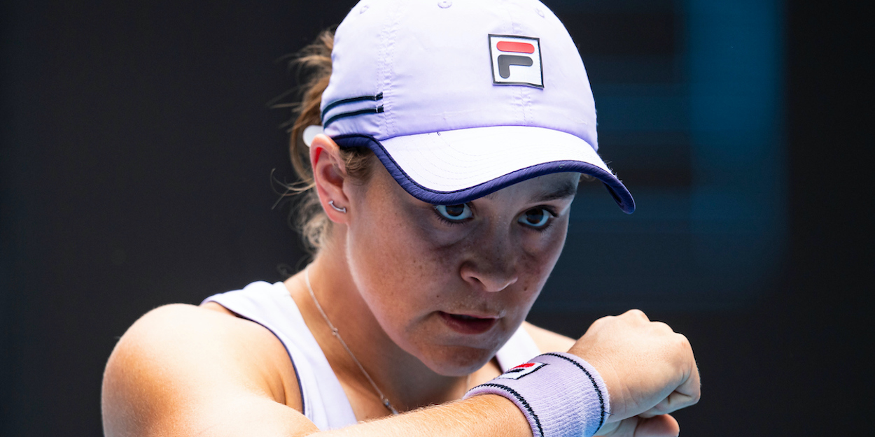 Ashleigh Barty Australian Open 2021