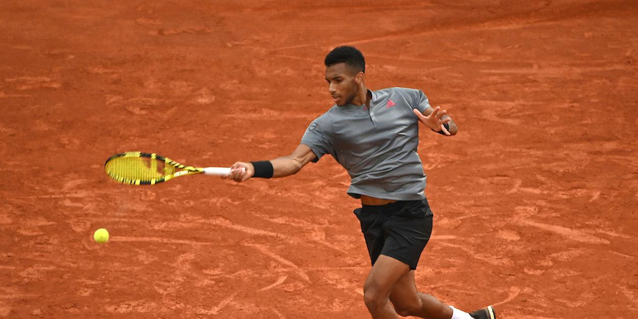 Auger-Aliassime Monte Carlo Masters 2021