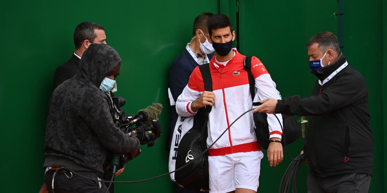 Novak Djokovic Monte Carlo Masters 2021