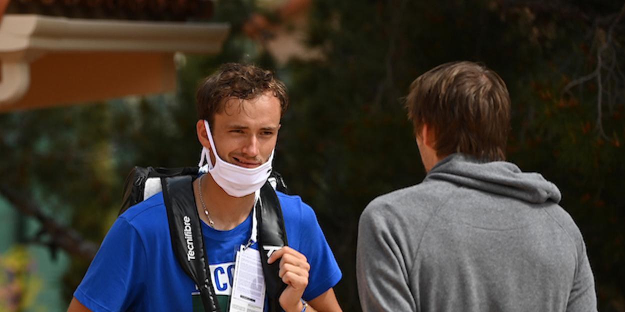 Daniil Medvedev Monte Carlo 2021