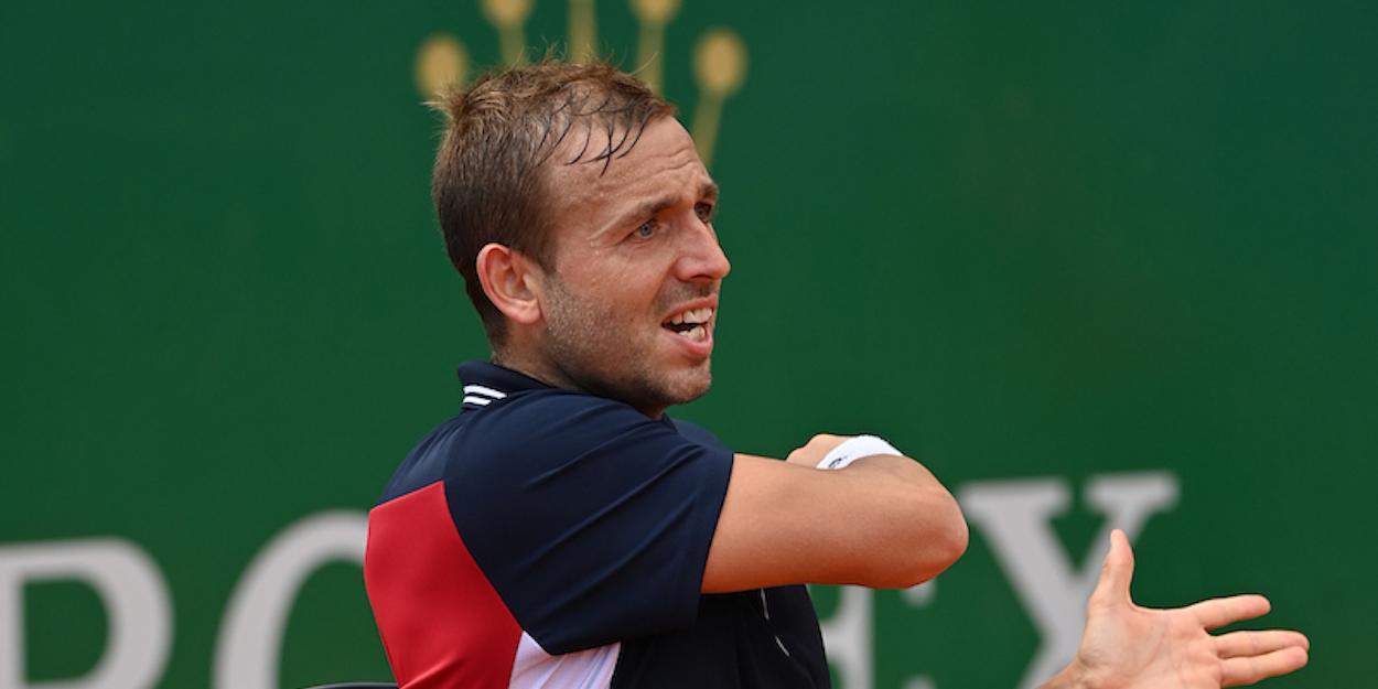 Dan Evans Monte Carlo Masters 2021 Djokovic