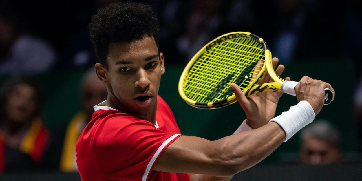 Felix Auger-Aliassime Davis Cup 2019