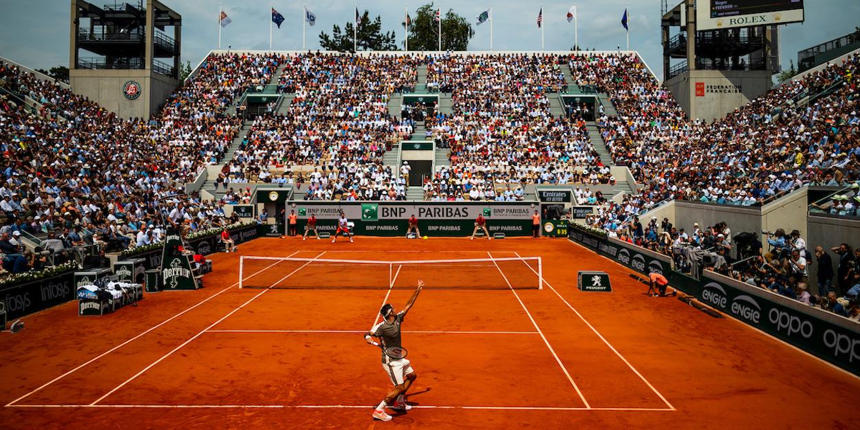 Roger Federer plays Rafa Nadal French Open 2019