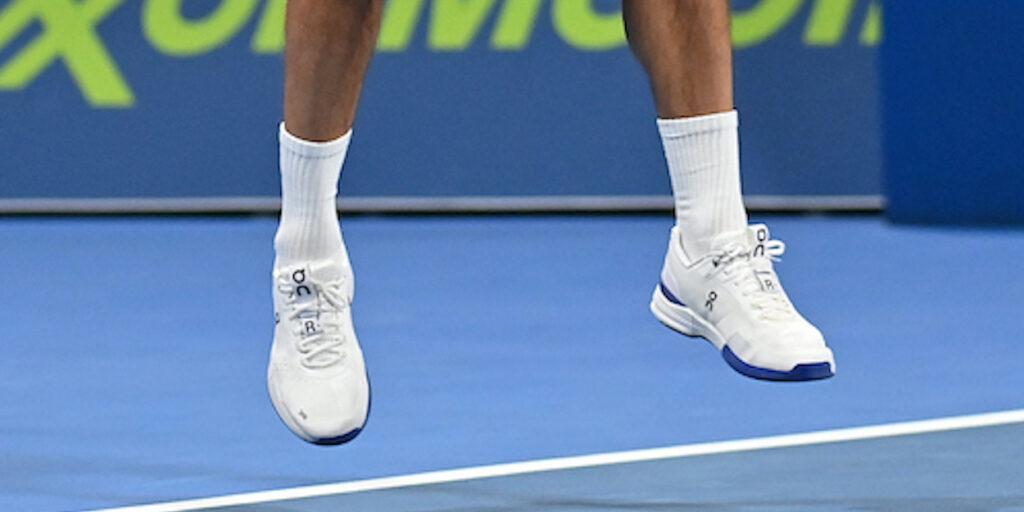 Roger Federer 'On' shoes
