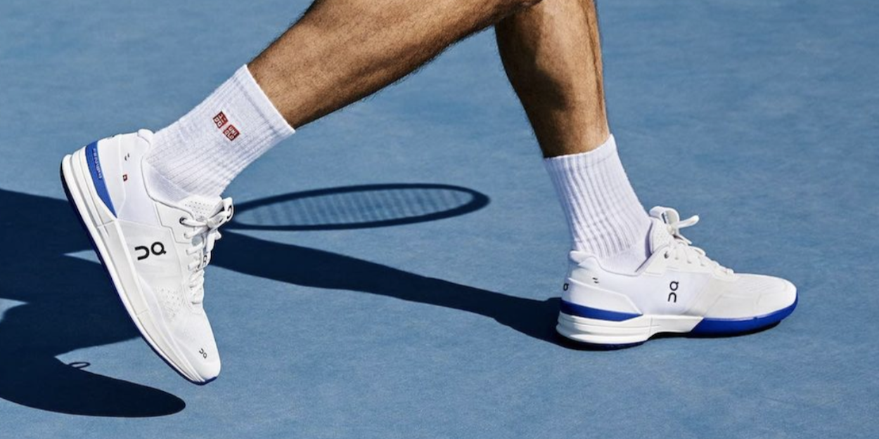 Roger Federer 'On' tennis shoes