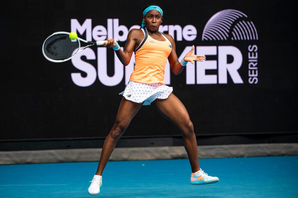 Coco Gauff Australian Open 2021