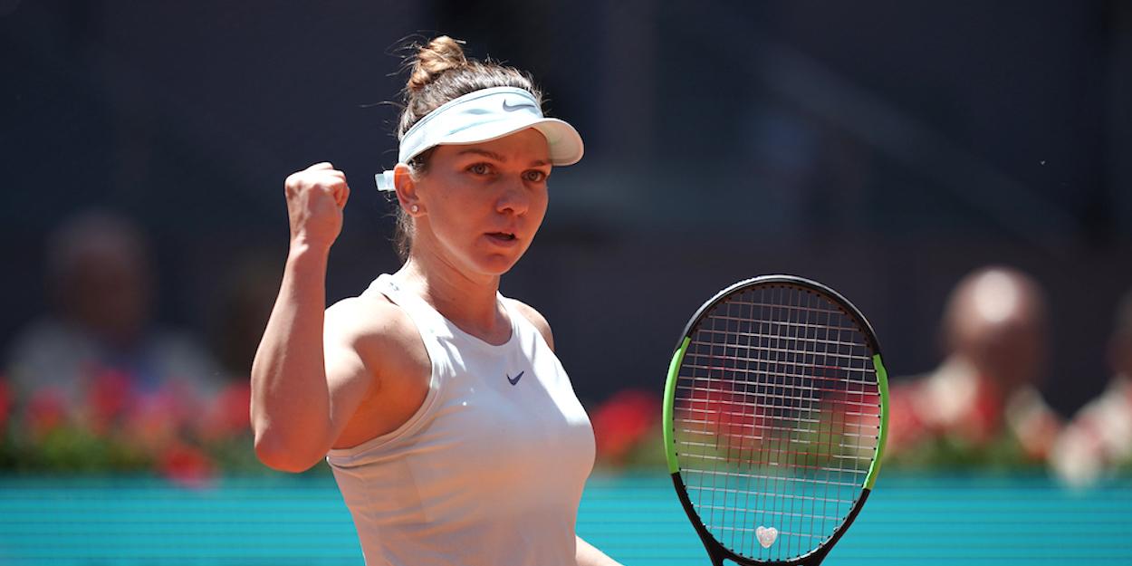 Simona Halep Madrid Open 2019