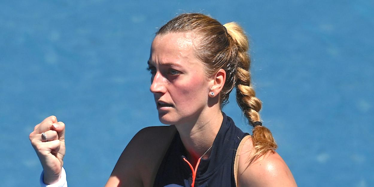 Petra Kvitova Australian Open 2021