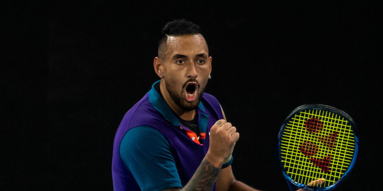 Nick Kyrgios Australian Open 2021